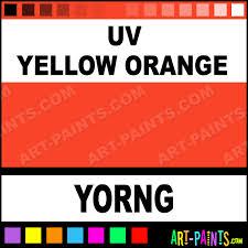 uv yellow orange blacklight tattoo ink paints yorng uv yellow