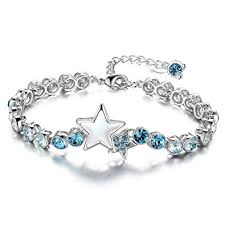 swarovski bracelet price images Buy genuine swarovski elements blue star luxury bracelet for women jpg
