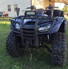 custom rancher 420 bumper honda atv forum