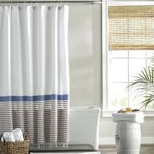 Shower Curtain Striped Cotton Shower Curtains Striped Cotton Fringe X Shower Curtain
