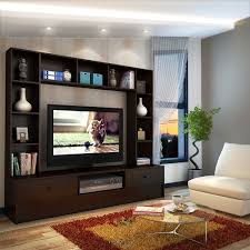 Wenge Living Room Furniture Buy Mars Wall Unit Wenge At Lowest Prices In India On
