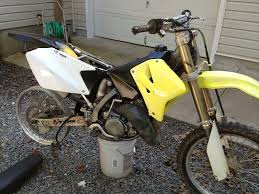 spagina767 u0027s suzuki rm 125 spagina767 u0027s bike check vital mx