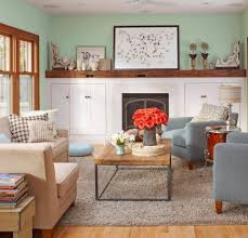 Comfortable Family Rooms Midwest Living - Family room decorating images