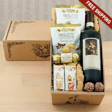 wine gift boxes vino italiano wine gift box capalbos gift baskets