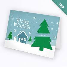 Business Holiday Card Winter Wishes Business Holiday Cards Christmas Cards English