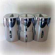 stainless steel canister sets kitchen stainless steel canister set 89 http www tramontina