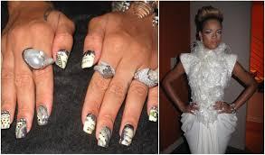 just b b minxed celebrity manicure minx nails