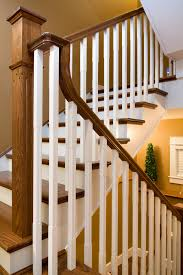 Stair Moulding Ideas by Distinctive Interiors Dark Oak Sets Off The White Spindles And