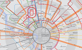 Map Of Columbus Downtown Columbus Ohio Lofts Condos Homes For Sale For Rent