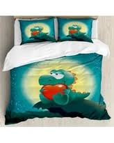 here u0027s a great deal on ambesonne dinosaur duvet cover set
