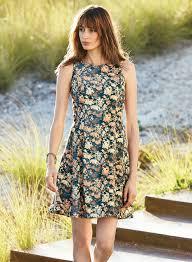 sun dress faded floral sundress dresses trends features