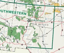 New Mexico forest images New mexico forest map jpg