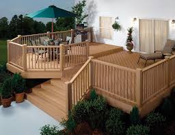 Decking Kits With Handrails Wpc Composite Wood Railings U0026 Balustrade Real Natural Timber Look