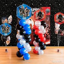 wars balloons delivery wars balloon tower diy party city