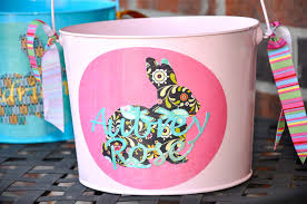 personalized easter buckets running with glitter chalkboard personalized easter