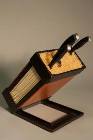knife blocks wood knife block by terrasteel furniture design
