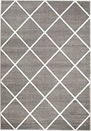 Grey Modern Rug Contemporary Rugs For Living Room Grey And White