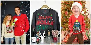 best diy ugly christmas sweater ideas ugly christmas sweater diys
