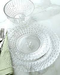 clear glass dinner plates instavite me