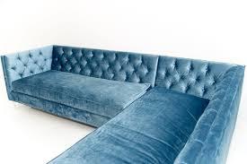 Teal Sectional Sofa Blue Velvet Sectional Sofa Sofas