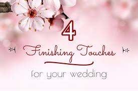 for your wedding 4 finishing touches for your wedding sweet violet