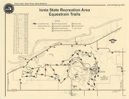 Map Of Tri State Area Ionia Horse Trails Association Documents U0026 Map