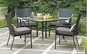 Patio Table With Chairs Gramercy Home 5 Patio Dining Table Set Garden