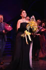 Curtain Call Theatre Vanessa Hudgens Curtain Call During The U0027gigi U0027 Broadway Opening