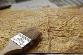 gold paper making simple craft ideas