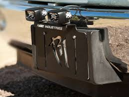 rigid industries backup light kit license plate mount black rigid industries
