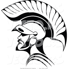 vector of roman soldier line art by vector tradition sm 461