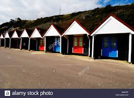 beach huts bournemouth hampshire england stock photo royalty