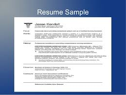 How To Make A Resume Example by How To Write A Resume For Cna Job