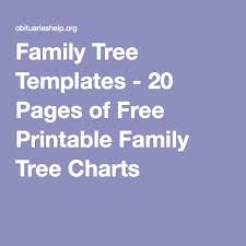 25 unique family tree templates ideas on pinterest family trees