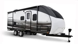 travel campers images Ford introduces licensed line of trailers toy haulers and campers jpg