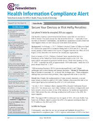 health information compliance alert u20132016 hipaa trends