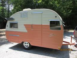 1956 shasta painted this old camper