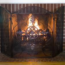 antique fireplace screen on custom fireplace quality electric