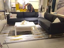 Ikea Sectional Sofa Reviews Furniture Ikea Slipcovered Sectional Ikea Ektorp Review Ikea