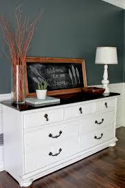 dining room chest of drawers dining room chalkboard vignette erin spain