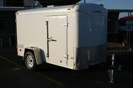 Enclosed Trailer Awning For Sale Enclosed Cargo Trailers Flatbed Dump Utility And Cargo