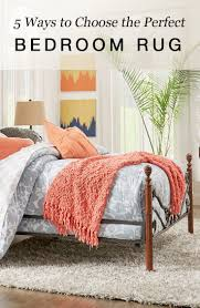 Rug Placement Bedroom 5 Ways To Choose The Perfect Bedroom Rug Overstock Com