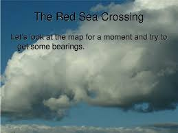 The Red Sea Map Ppt The Red Sea Crossing Powerpoint Presentation Id 302463