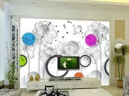 wallpaper for walls cost stereoscopic wallpaper 3d aesthetic flowers modern minimalist tv