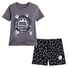 your wdw store disney child boys pajamas skellington