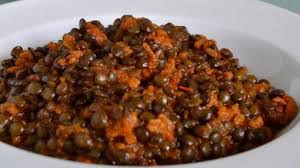 cuisiner lentille lentilles vertes du puy à la bolognaise recettes site officiel