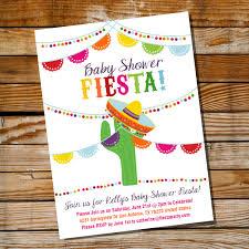 fiesta baby shower invitations marialonghi com