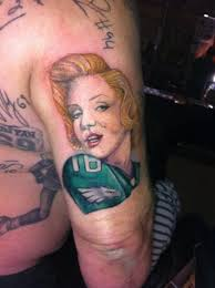 9 best philadelphia eagles official tattoos images on pinterest