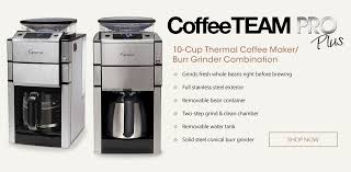 Coffee Makers With Grinders Built In Reviews Capresso