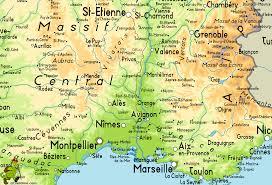 Map Of France And Italy Avignon Map Avignon France Map Recana Masana